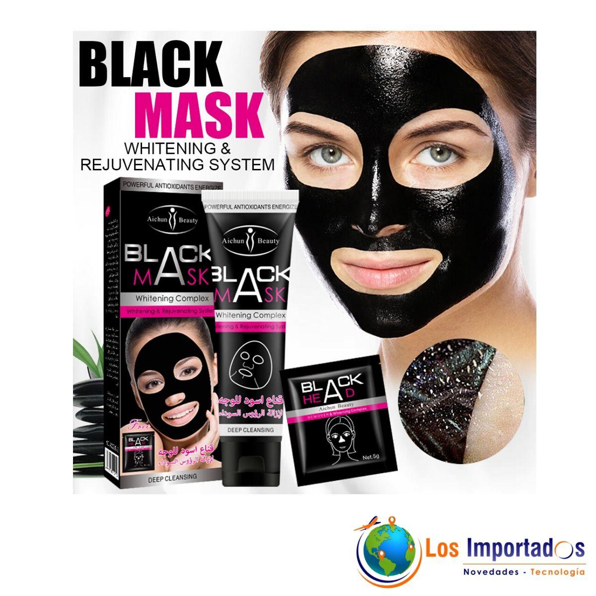 mascarilla facial negra
