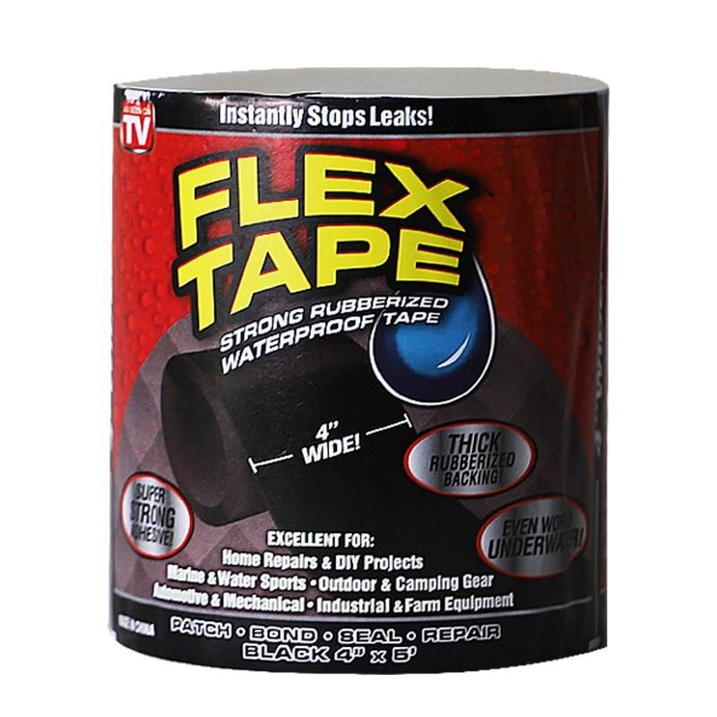 Tubo de sellado de fugas de parada impermeable de fibra súper fuerte, cinta de reparación de tubos rendimiento cinta adhesiva de Fiberfix